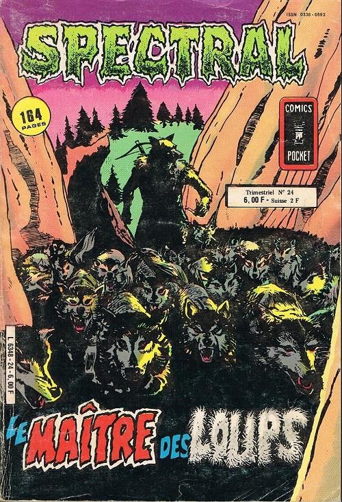 Couverture de Spectral (2e série) -24- Le maitre des loups