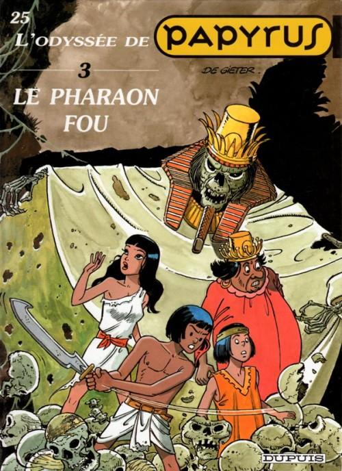 Couverture de Papyrus -25- Le pharaon fou
