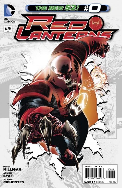 Couverture de Red Lanterns (2011) -0- Atrocitus: The Second Prophecy