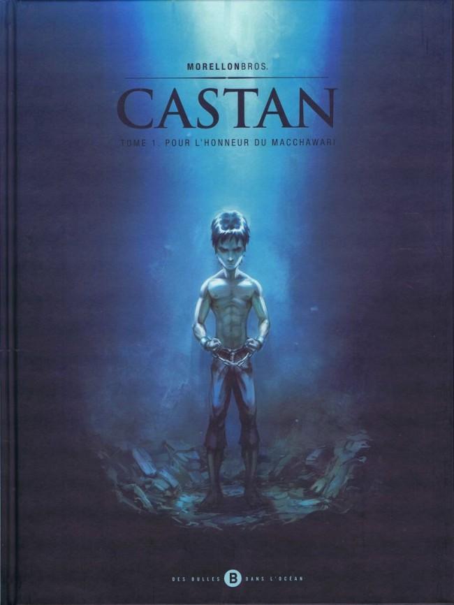 Couverture de Castan -1- Pour l'honneur du Macchawari
