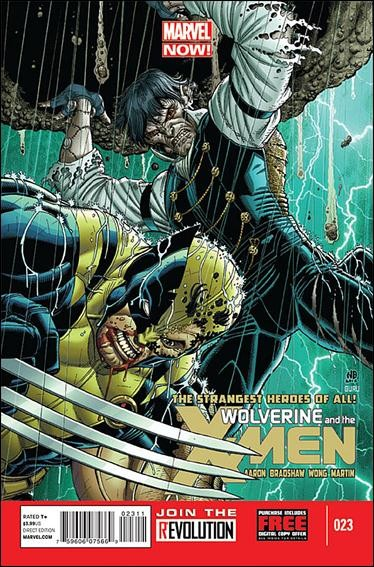 Couverture de Wolverine and the X-Men Vol.1 (Marvel comics - 2011) -23- The last frankenstein