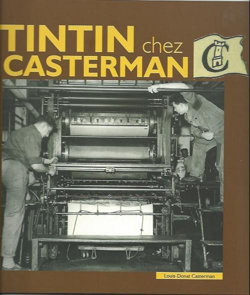 Couverture de Tintin - Divers - Tintin chez casterman