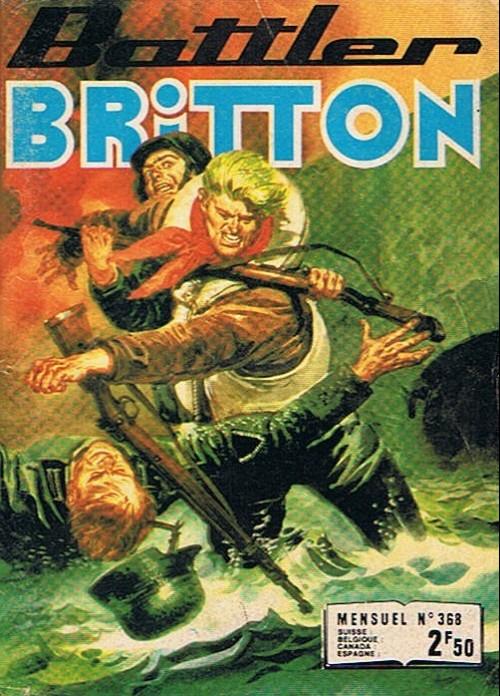 Couverture de Battler Britton -368- Les vieux