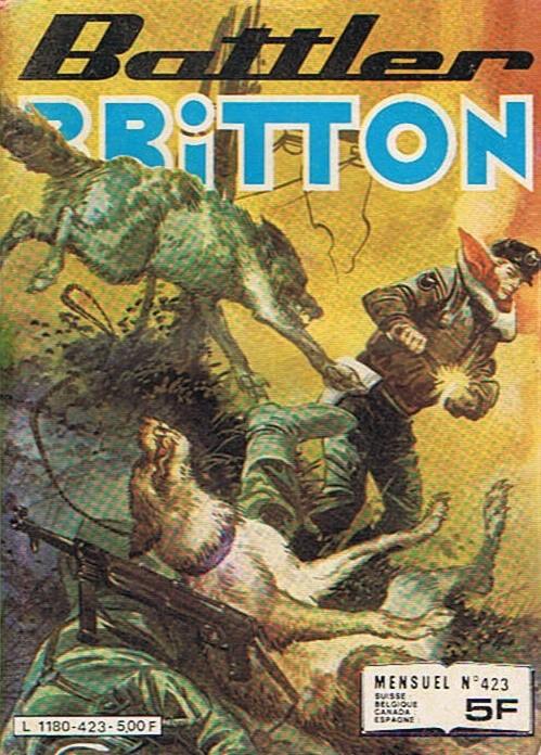 Couverture de Battler Britton (Imperia) -423- Dans la jungle birmane
