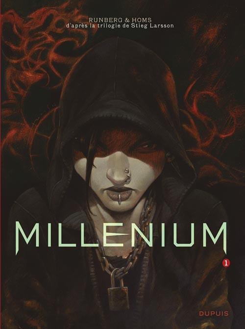 Couverture de Millénium -1- Les hommes qui n'aimaient pas les femmes - Première partie