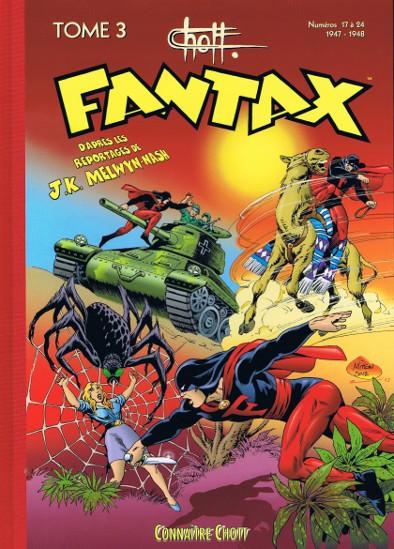 Couverture de Fantax (1re série) -INT3- Tome 3 (1947-1948)