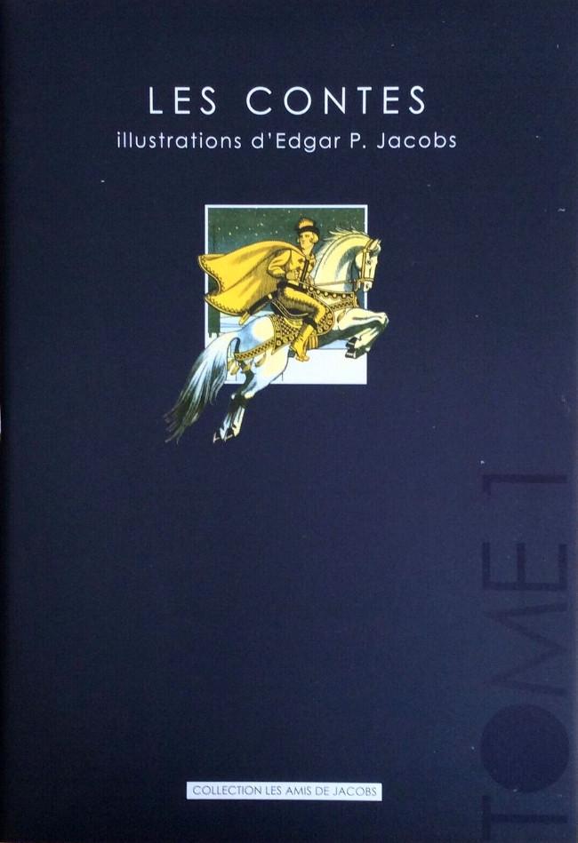 Couverture de (AUT) Jacobs, Edgar P. -36- Les Contes - Illustrations d'Edgar P. Jacobs - Tome 1