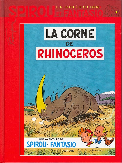 Couverture de Spirou et Fantasio - La collection (Cobra) -3- La corne de rhinocéros