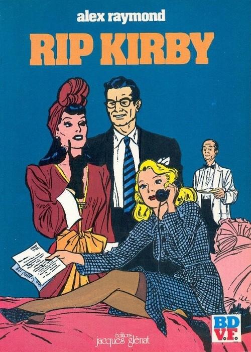 Couverture de Rip Kirby -1- L'affaire Faraday - La Formule du Docteur Hicks