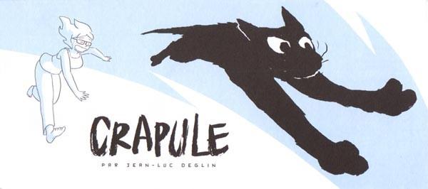 Couverture de Crapule -MR3906- Mini-récit n°6