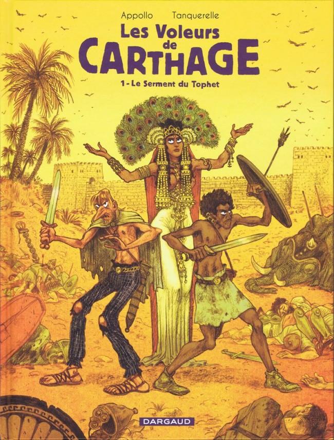 Couverture de Les voleurs de Carthage -1- Le Serment du Tophet