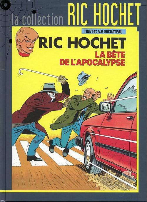 Couverture de Ric Hochet - La collection (Hachette) -51- La bête de l'apocalypse