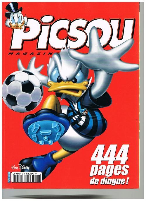 Couverture de Picsou Magazine -Rec54- (2e série) Recueil n°54 (n°430 à 432)