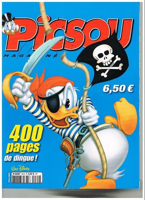 Couverture de Picsou Magazine -Rec64- (2e série) Recueil n°64 (n°468-471-470)