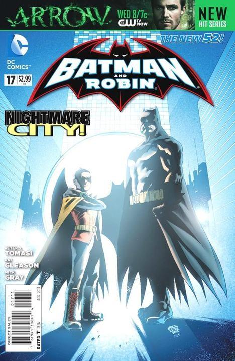 Couverture de Batman and Robin (2011) -17- Life is But a Dream