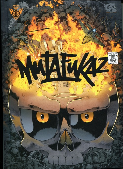Couverture de Mutafukaz -4- De4d end