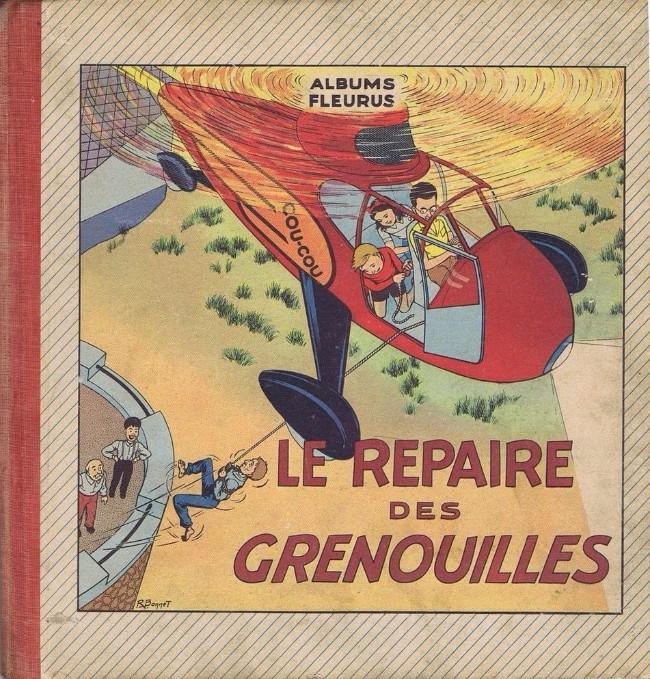 Couverture de Fripounet et Marisette -1- Le repaire des grenouilles