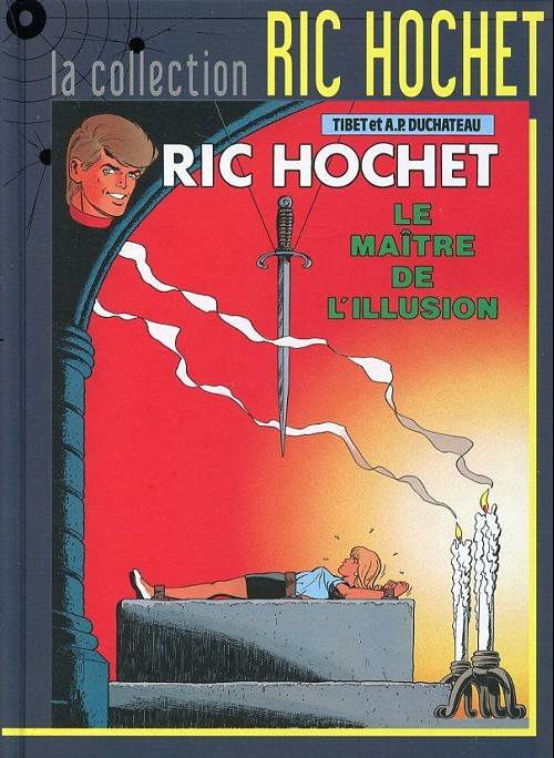 Couverture de Ric Hochet - La collection (Hachette) -52- Le maître de l'illusion