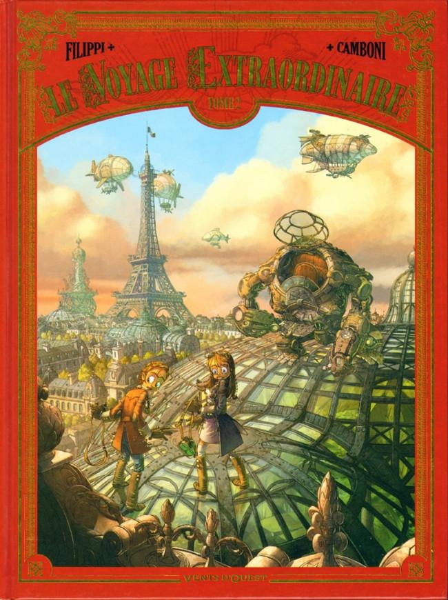 Couverture de Le voyage Extraordinaire -2- Tome 2 - Le Trophée Jules Verne 2/3