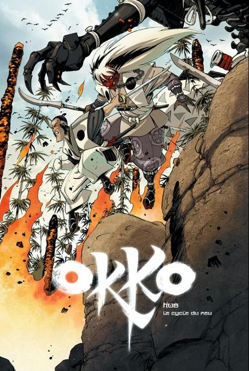Couverture de Okko -TL4- Le cycle du feu - I et II