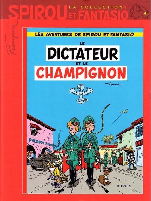 Couverture de Spirou et Fantasio - La collection (Cobra) -4- Le dictateur et le champignon