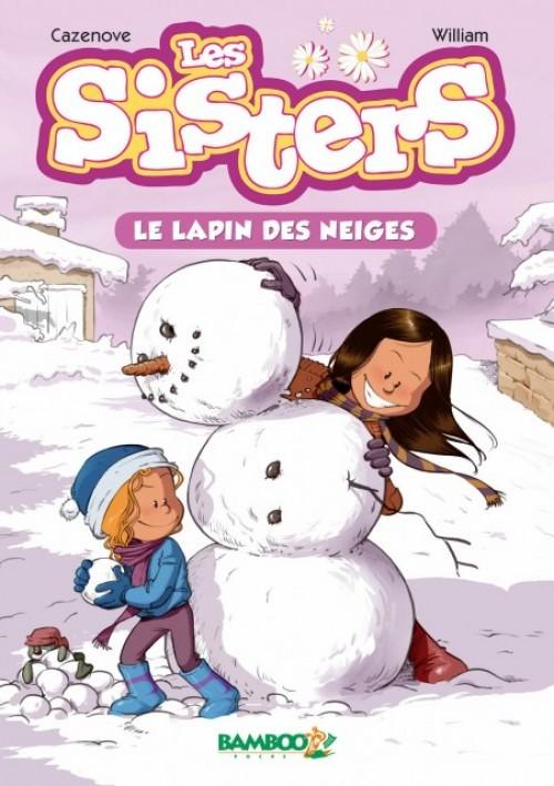 Couverture de Les sisters -RJ03- Le lapin des neiges
