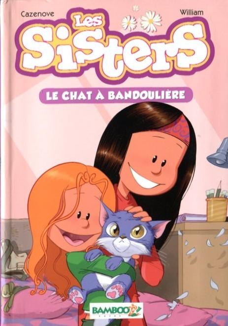 Couverture de Les sisters -RJ04- Le chat à bandoulière