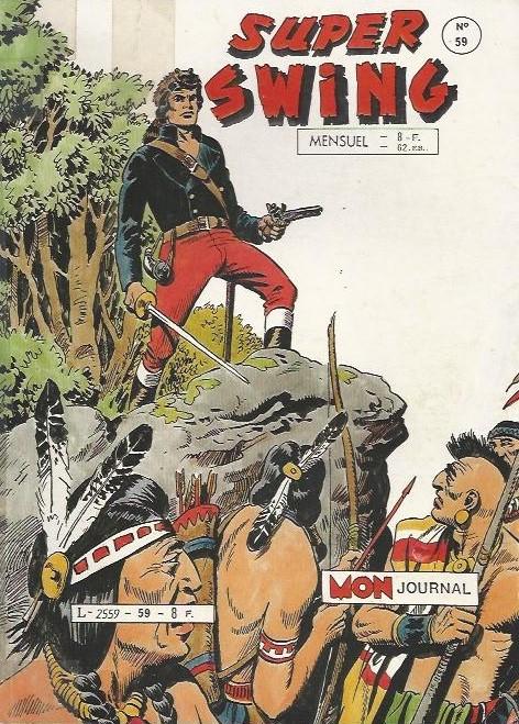 Couverture de Super Swing -59- La justice des loups