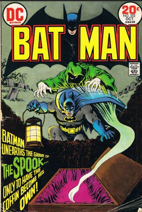 Couverture de Batman (1940) -252- The Spook's Master Stroke!