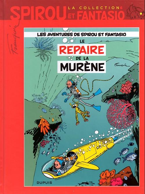 Couverture de Spirou et Fantasio - La collection (Cobra) -6- Le repaire de la murène