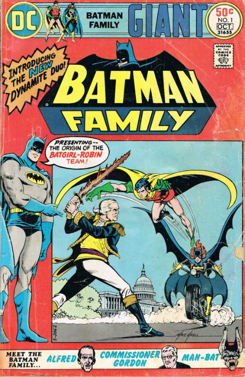 Couverture de Batman Family (The) (1975) -1- The invader from Hell