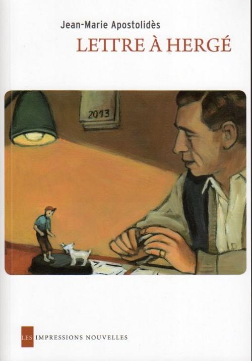 Couverture de (AUT) Hergé -93- Lettre à Hergé