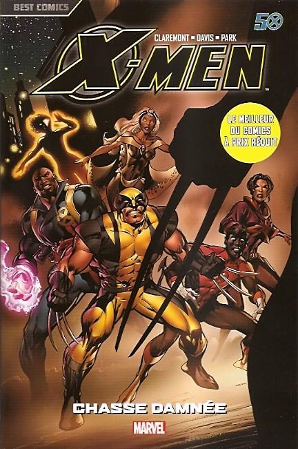 Couverture de X-Men (Best Comics) -4- Chasse damnée