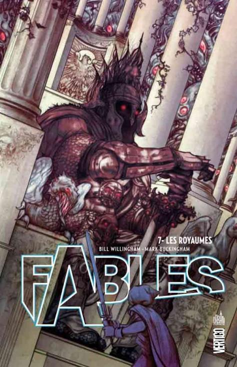 Couverture de Fables (Urban Comics) -7- Les Royaumes