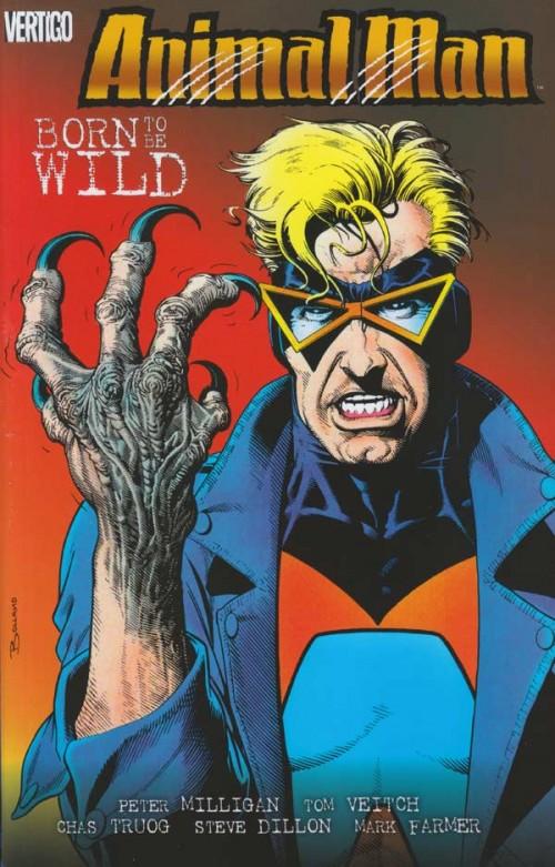 Couverture de Animal Man Vol.1 (DC comics - 1988) -INT4- Born to be Wild