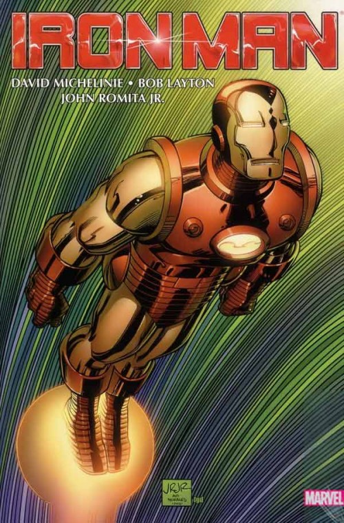 Couverture de Iron Man Vol.1 (Marvel comics - 1968) -OMNI01- Iron Man Omnibus by Michelinie, Layton & Romita Jr.