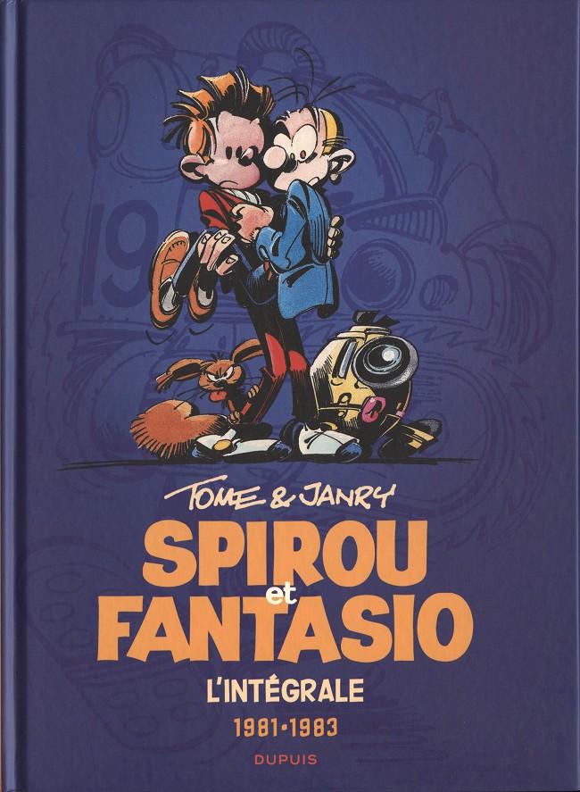 Couverture de Spirou et Fantasio -6- (Int. Dupuis 2) -13- 1981-1983