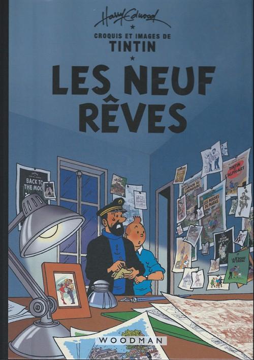 Couverture de Tintin - Pastiches, parodies & pirates - Les neuf rêves