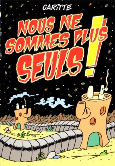 Couverture de Mini-récits et stripbooks Spirou -MR3907- Nous ne sommes plus seuls !