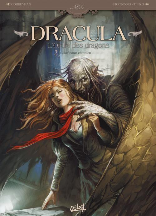 Couverture de Dracula - L'Ordre des dragons -2- Cauchemar Chtonien