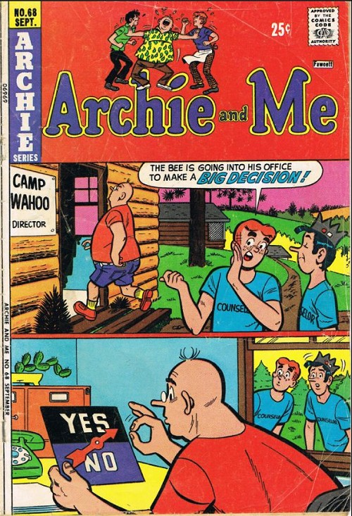 Couverture de Archie and Me (1964) -68- A crowd of one