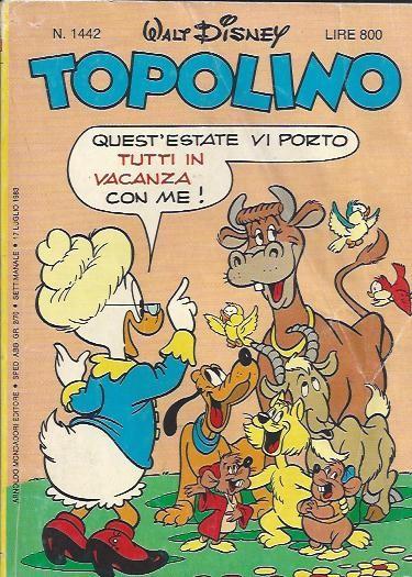 Couverture de Topolino -1442- N°1442