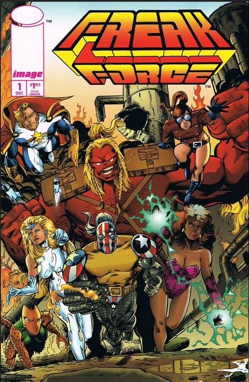 Couverture de Freak Force (1993) -1- Freak force