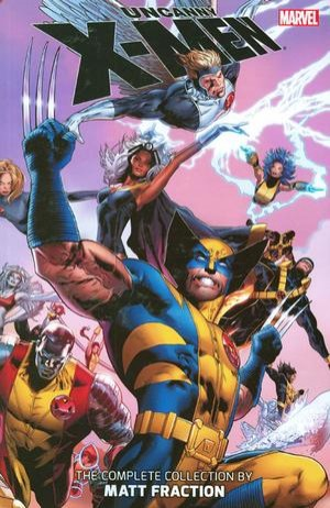 Couverture de Uncanny X-Men (The) (Marvel comics - 1963) -INT- The Complete Collection by Matt Fraction volume 1