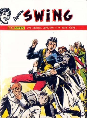 Couverture de Capt'ain Swing! (2e série - Mon Journal) -13- L'auberge de la Terreur