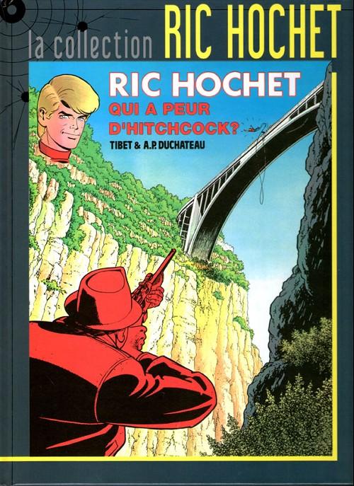 Couverture de Ric Hochet - La collection (Hachette) -55- Qui a peur d'Hitchcock ?