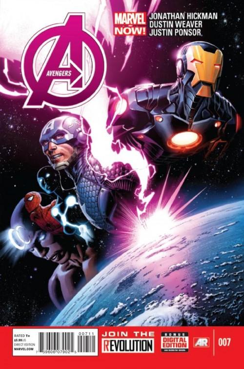 Couverture de Avengers Vol.5 (Marvel comics - 2013) -7- The Last White Event