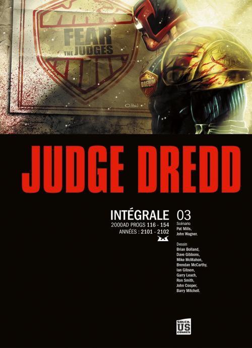 Couverture de Judge Dredd (Soleil) -INT3- Intégrale 03
