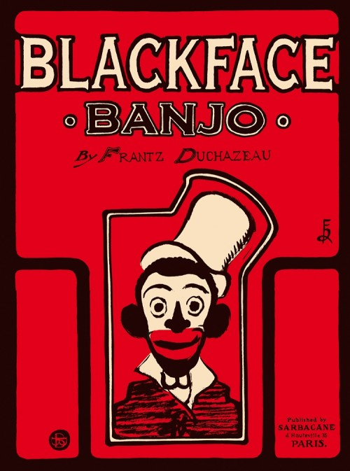 Couverture de Blackface Banjo