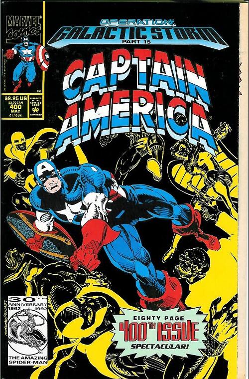 Couverture de Captain America (Marvel comics - 1968) -400- Murder by decree!